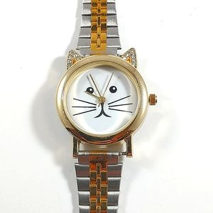 Charming Charlie cat watch